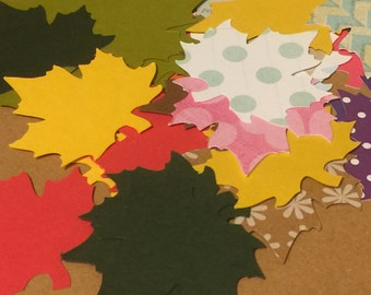 Leaf Die Cuts