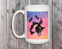 Unique Witch Coffee Mug Related Items Etsy