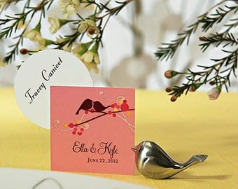 Love Bird Place Card Holders - 8 Pieces
