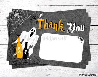 Halloween thank you | Etsy