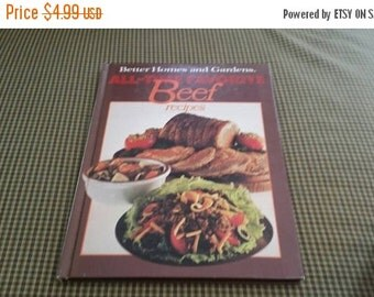 On Sale Better Homes and Gardens All Time Favorites Beef Recipes Cookbook 1977
