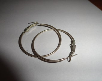 Vintage Pierced Earrings 2.5 inch length