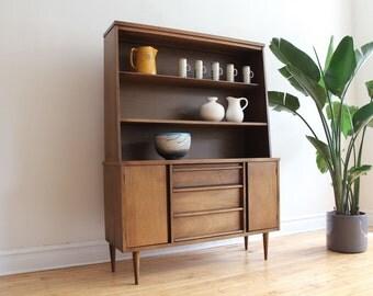 Mid Century Modern Bassett Dining Cabinet