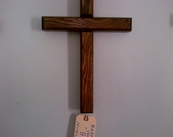"""Baby Jumbo Wall Cross 10"""" x 14""""  Model No. B"""