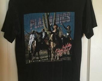 Vintage Distressed Plazmatics Shirt (Size: Small)