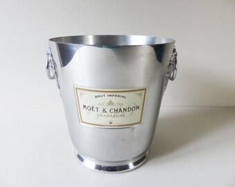 French Champagne Bucket - Cooler - MOET ET CHANDON