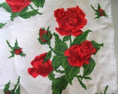 Reserved for Kathy - Piece of vintage French printed cotton
