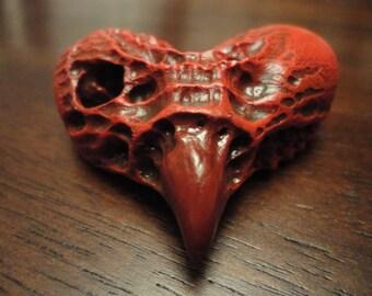 RED HORNED HEART Magnet