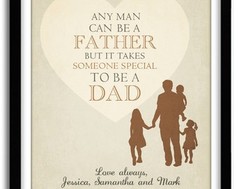 Dad's Gift, Gift For Dad, Wall Decor, Father's Day Wall Art, Personalized Gift For Husband, Personalized Gift for Dad