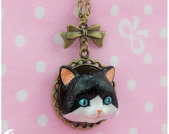 Neko-san Necklace 2