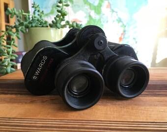 Vintage Montgomery Wards 6-30 Binoculars - Working Condition