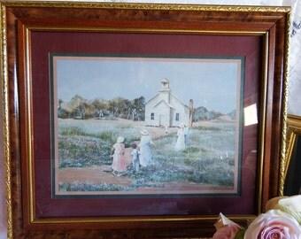 Ann Mount Art Print  A Gathering Place The Rural Church