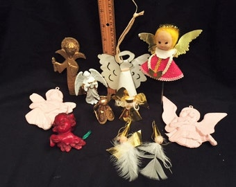 Christmas - 11 little angels decorations