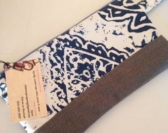 FREE SHIPPING Oversize Wristlet, Wallet, Purse, Bridesmaid gifts, Clutch