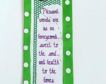 Scripture bookmark