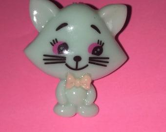 Kitty adjustable ring- KAWAII, adorable!