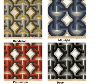 "One designer decorative throw pillow cover charcoal grey Dwell studio Futura toss pillow 14x14 16x16 18x18 20X20 22x22 24x24"""