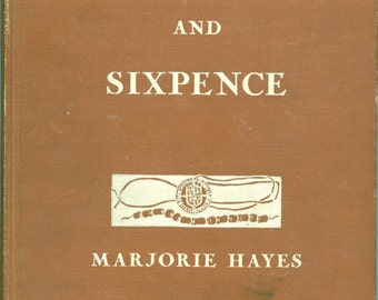 """1936 First Edition Book, """"Wampum And Sixpence - Childrens' Stories"""