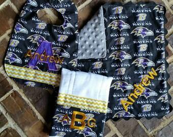 Baltimore Ravens Baby Gift Set (Girl or Boy)