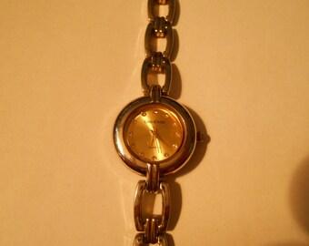 cote d' azur ladies diamond dial watch
