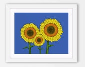 Sunflower Decor, Sunflowe...