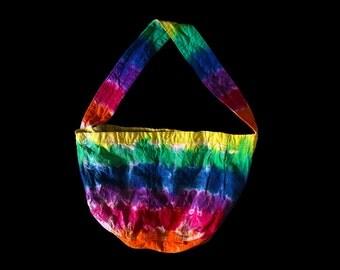 Tie-Dye Tote Hobo Bag