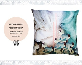 Living Digital Print Pillow