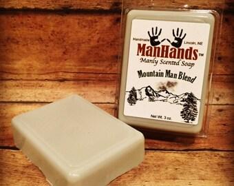Mountain Man Blend Scented Soap 3 oz. Bar
