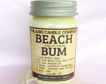Beach Bum 16oz Vintage Soy Candle