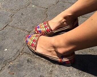 Sofia Sandals - Handcrafted Guatemala (Xx)