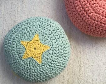 korallen h keln teppich bunten teppich crochet von loopinghome. Black Bedroom Furniture Sets. Home Design Ideas