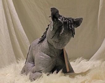 Plush Sleipnir Horse