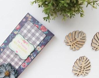 Be Happy Cardboard Scrapbook Chocolate Box