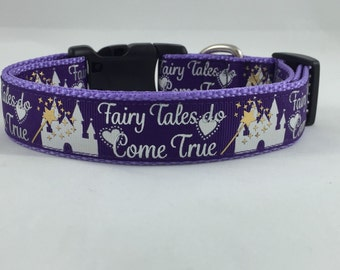 Fairy Tales do Come True dog collar Princess