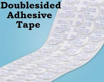 """1"""" Doublesided Round Adhesive Tape 25.4mm Doublesided Adhesive Disks work great with Bottle Cap Jewelry All Sorts  DIY Projects Electronics"""