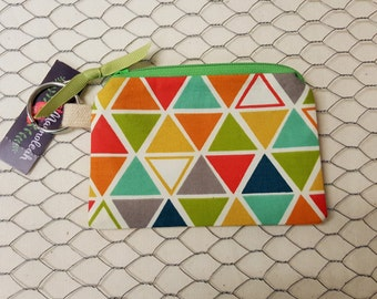Coin purse, Crdit card holder, ID card holder, Triangles