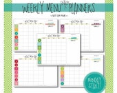 weekly menu & snack plann...