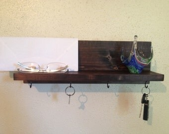 Key Holder with Shelf Key Holder for Wall