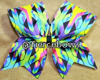 Can You See Me Now Cheer Bow