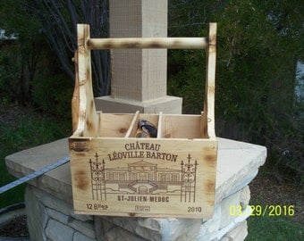 wine/cheese crate