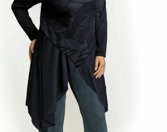 Plus-size tunic. Any color. Any size. Sizes 10-32. Custom made.