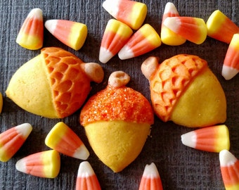 Mini Acorn Cookie Mold