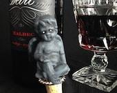 Haunted Cherub Wine Stopper