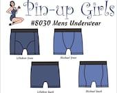 MENS UNDERWEAR PATTERN   - A Pin Up Girls Original Pattern
