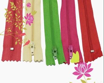 100pcs   3# nylon 35cm  (14inch ) Classic zipper for pillow ,bolster  ,pocket ,purse ks-255