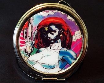 The X-Men Mystique compact mirror