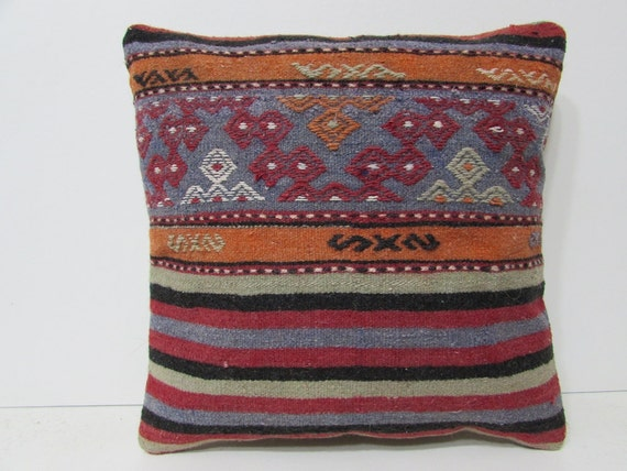 Southwestern Body Pillow : floor cushion cover 18 burlap pillow case by DECOLICKILIMPILLOWS