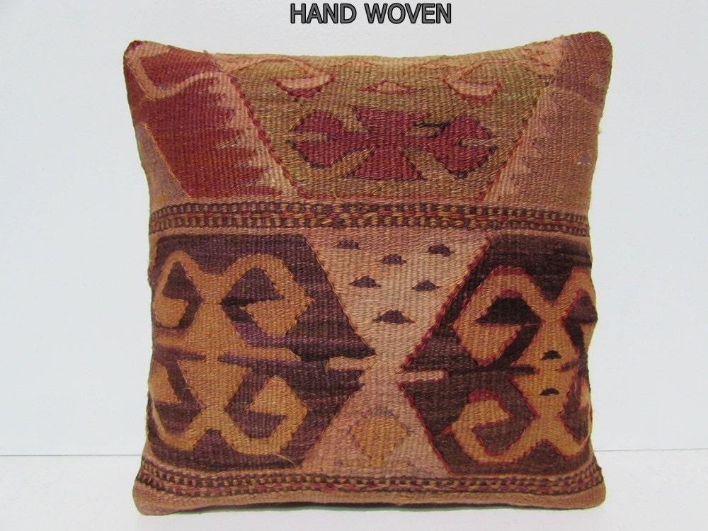 Throw Pillows On Clearance : bench pillow sham 18x18 aztec pillow cover wool throw pillow