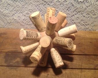 Wine Cork Ball Decor