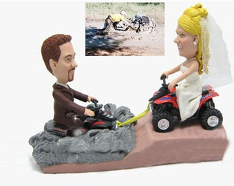 rescue theme - Personalised wedding cake topper (Free shipping)